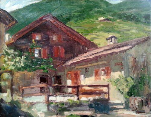 A Quiet Corner Painting Sergey Sovkov