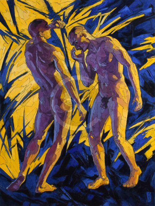 Am Scheideweg Sergey Erwin Sovkov Homosexuelle Kunst