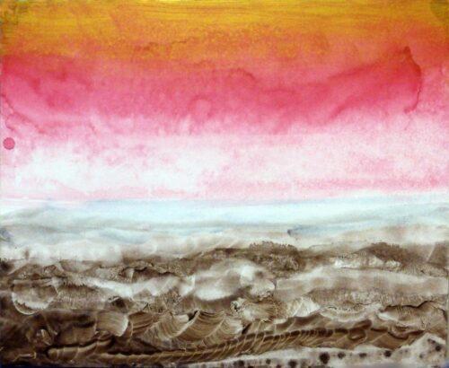 Aurora Over Bogomils Desert Otto Rapp Bild