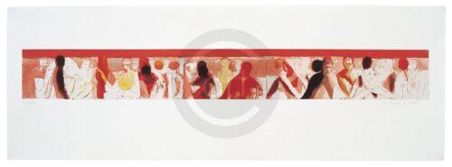 Bewegungen Der Seele 1 Michael Hedwig Bild Radierung