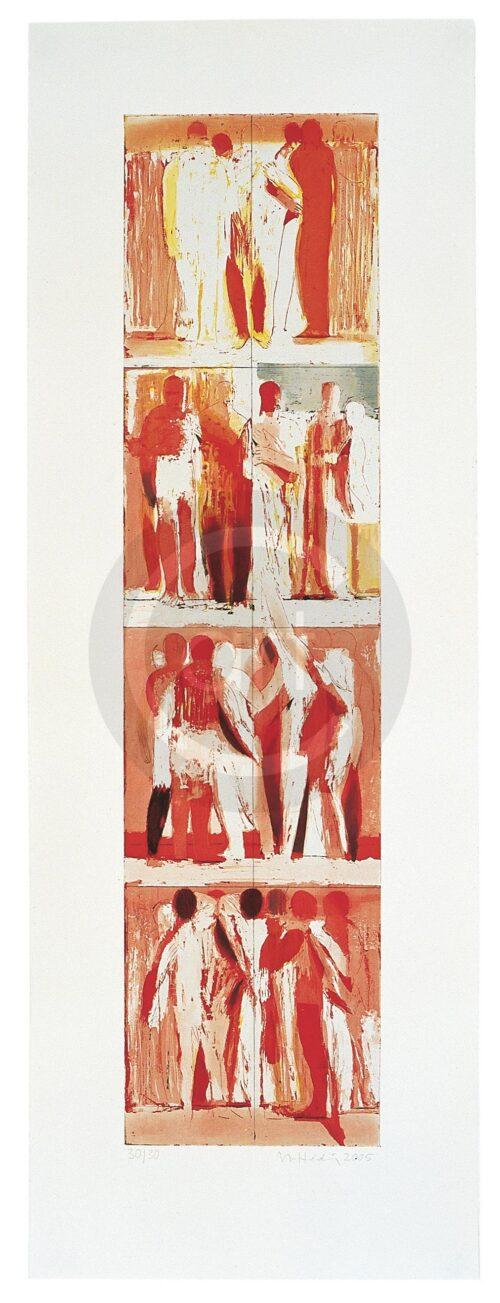 Bewegungen Der Seele 3 Michael Hedwig Bild Radierung