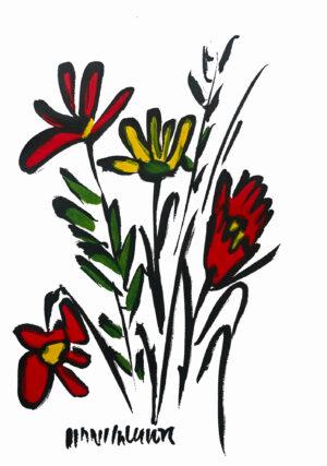 Blumenstrauss Bild Hans Salcher