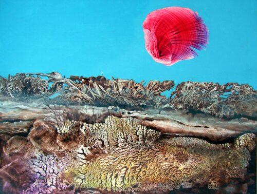 Otto Rapp Painting: Bogomil Sunrise 2
