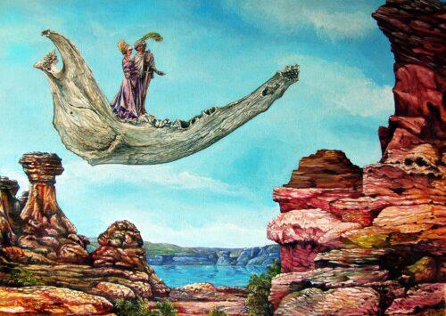 Bogomils Journey Otto Rapp Bild