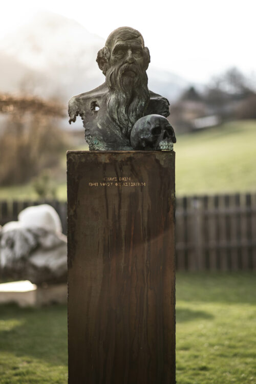 Michael Lang Sculpture: Carpe Diem