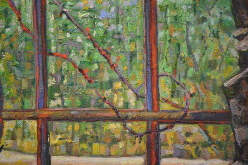 Claudios Corner Detail Painting Noel Paine