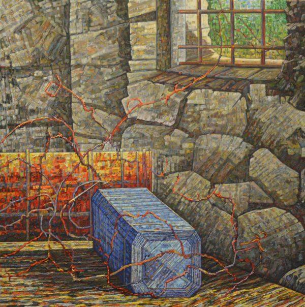 Claudios Corner Painting Noel Paine