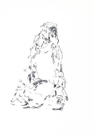 Daniel Leiter Buntstift Zeichnung Unbetitelt 7