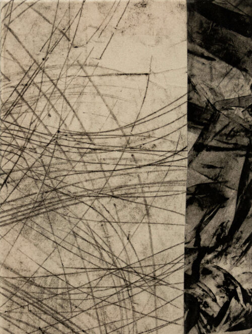 Daniel Leiter Drawing: Pieces Series – Monotype 3