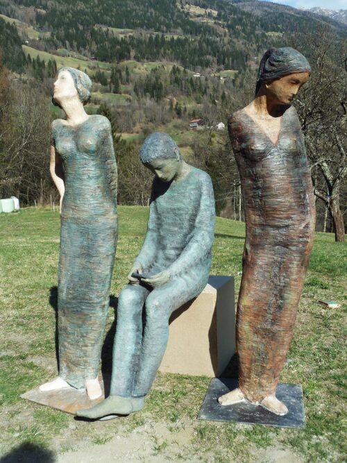 Sebastian Rainer Sculpture: 3 figures