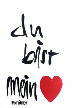 Du Bist Mein Herz Bild Hans Salcher