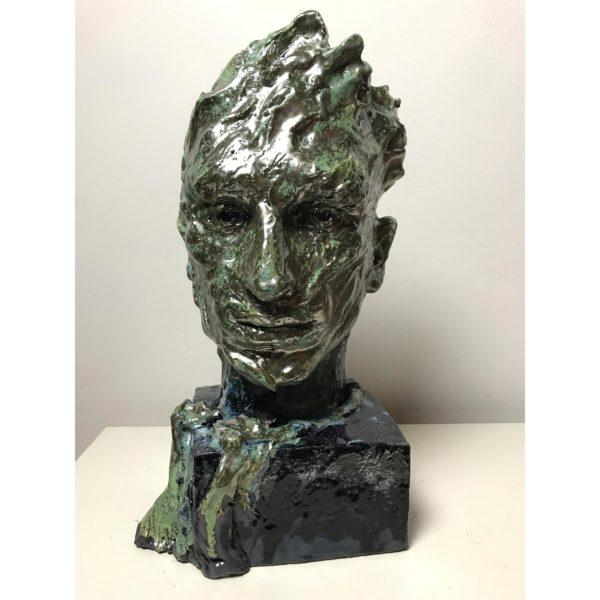 Emerald Wizard Sculpture Sergey Sovkov