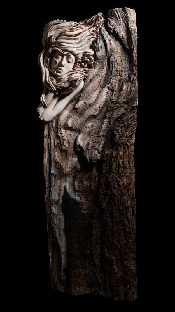 Engel keramik michael lang skulptur