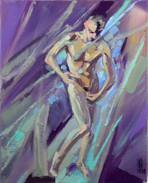 Etude On Project Source Of Life 1 Gay Art Painting Sergey Sovkov