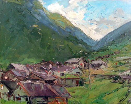Sergey Sovkov Painting: Evening