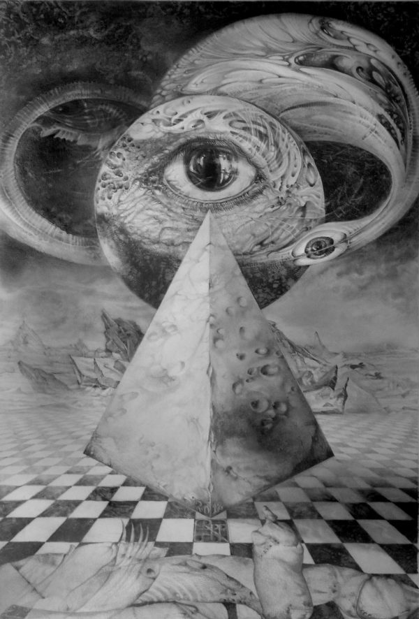 Eye Of The Dark Star Journey Through The Wormhole Otto Rapp Bild