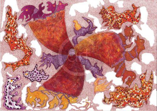 Simina Badea Painting: Fire