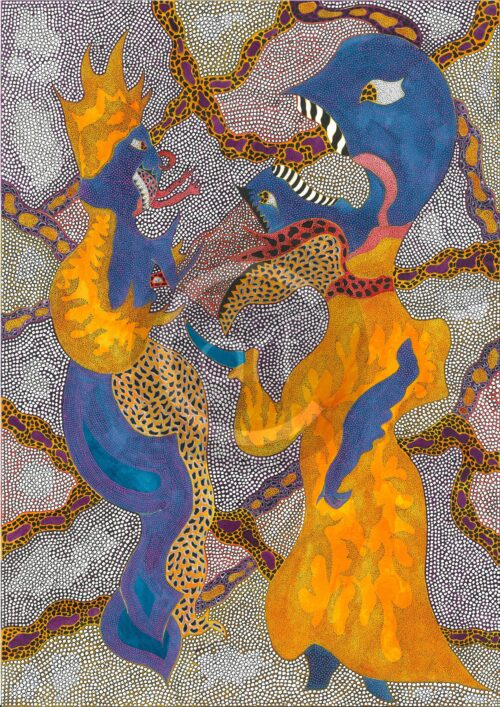 Simina Badea Painting: Fire conditions 2