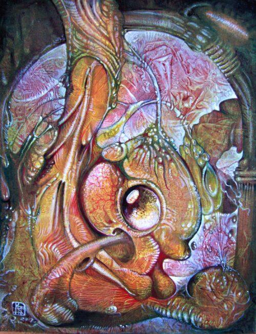 Otto Rapp Painting: Fomorii Incubator – In the Beginning