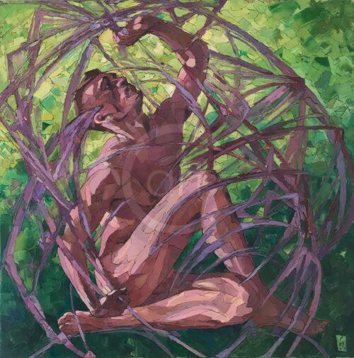 Sergey und Erwin Sovkov Painting: Bound