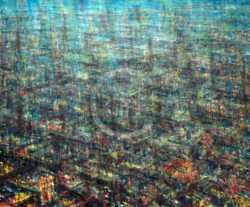 Growing City De Es Schwertberger Painting