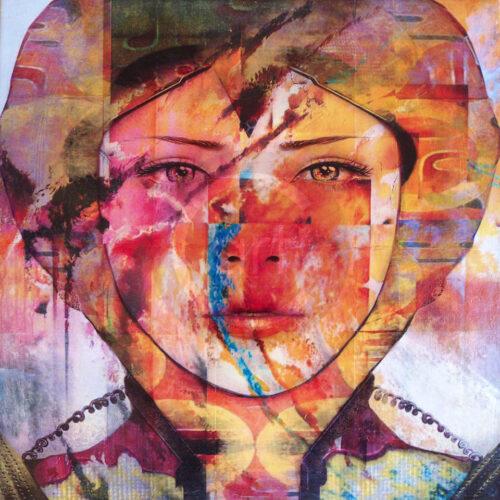 Har Patricia Frida Pictue Mixed Art