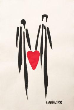 Herz Hans Salcher Bild