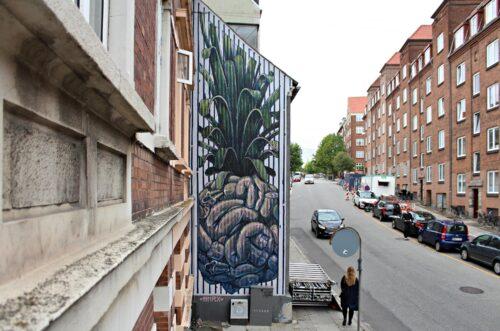 Hnrx Graffiti Aarhus Streetart