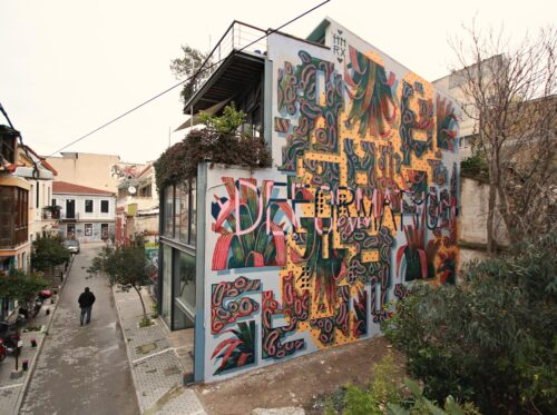 Hnrx Graffiti Athen 19
