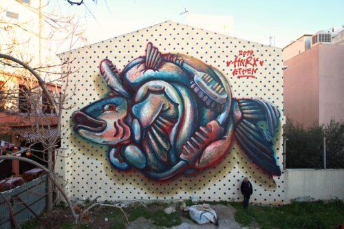 Hnrx Graffiti Athen Streetart 19
