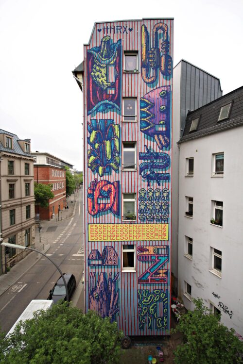 Hnrx Graffiti Hamburg 18 Streetart 2