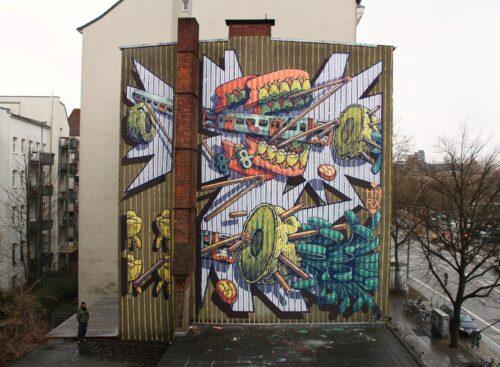 Hnrx Graffiti Hamburg 18 Streetart
