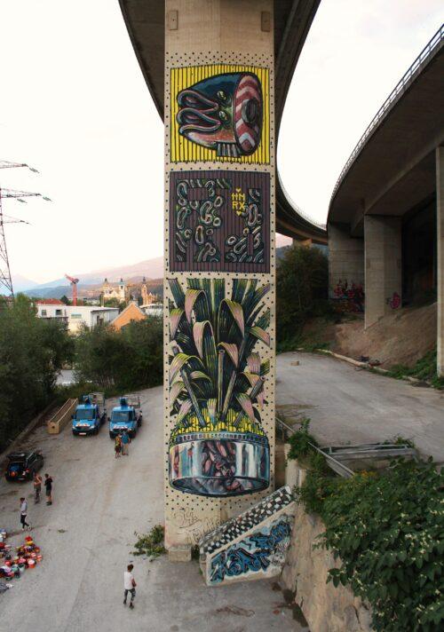 Hnrx Graffiti Innsbruck 18 Streetart