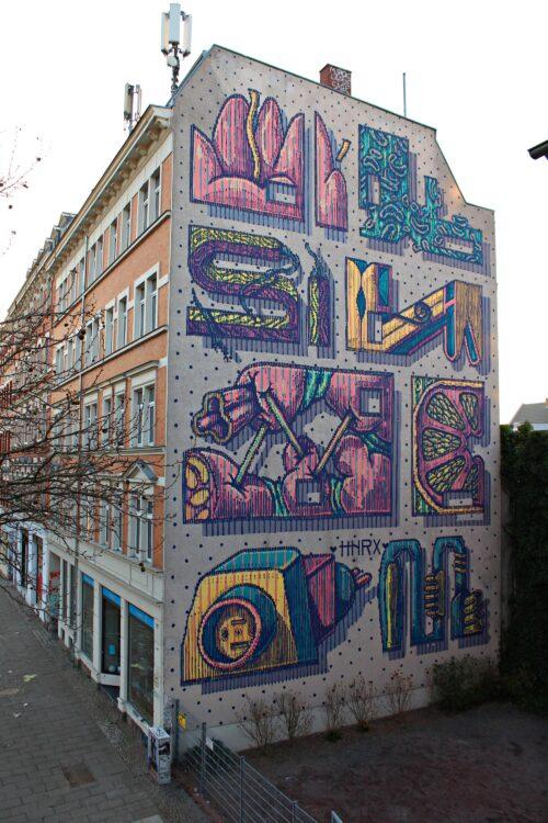 Hnrx Graffiti Leipzig 18 Streetart