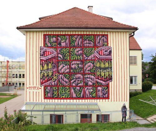 Hnrx Graffiti Styria 18 Streetart