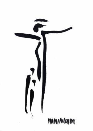 Jesus Am Kreuz Bild Hans Salcher