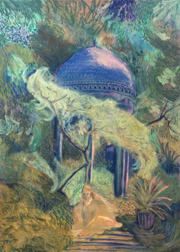 Just for one more night eternal love garden gideon summerfield painting