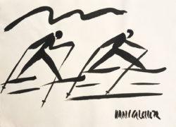 Langlauf Hans Salcher Bild
