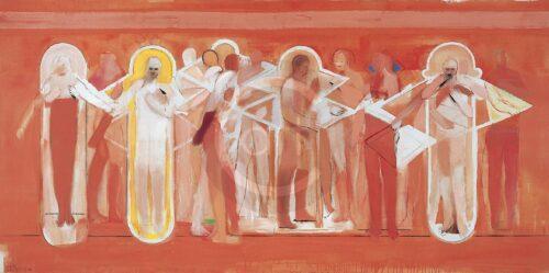 Lazarus Entwicklung Michael Hedwig Bild Acryl