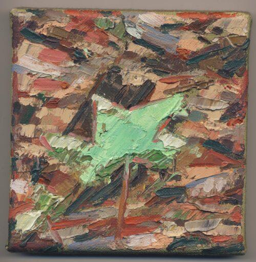 Leaf Study Noel Paine Painting