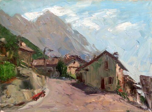 Morning Painting Sergey Sovkov