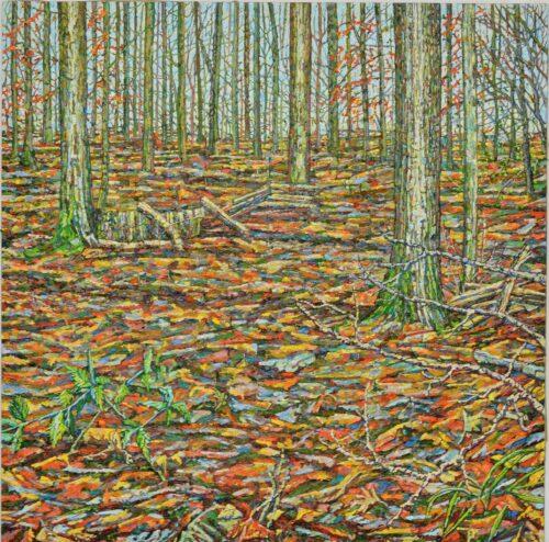 Ochres Groundscape Noel Paine Bild