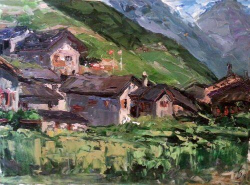 Planck Cerezo Painting Sergey Sovkov