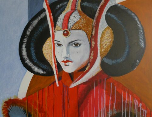 Queen Padme Amidala Star Wars Painting Anne Suttner