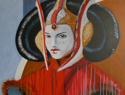 Anne Suttner Drawing: Queen Padmé Amidala