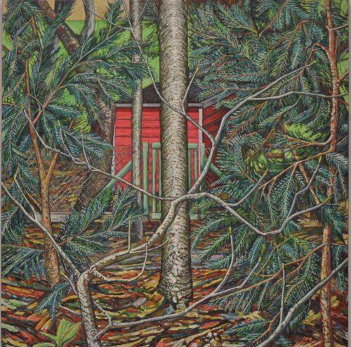 Noel Paine Painting: Red Edge