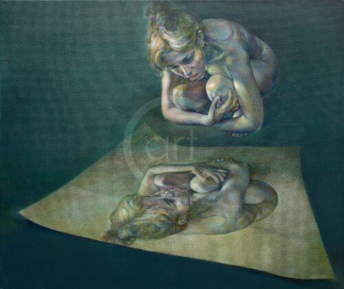 Reflection Mimi Staneva Painting