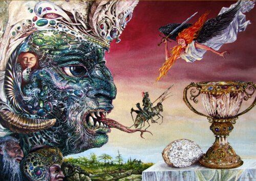 Otto Rapp Painting: Revelation 20