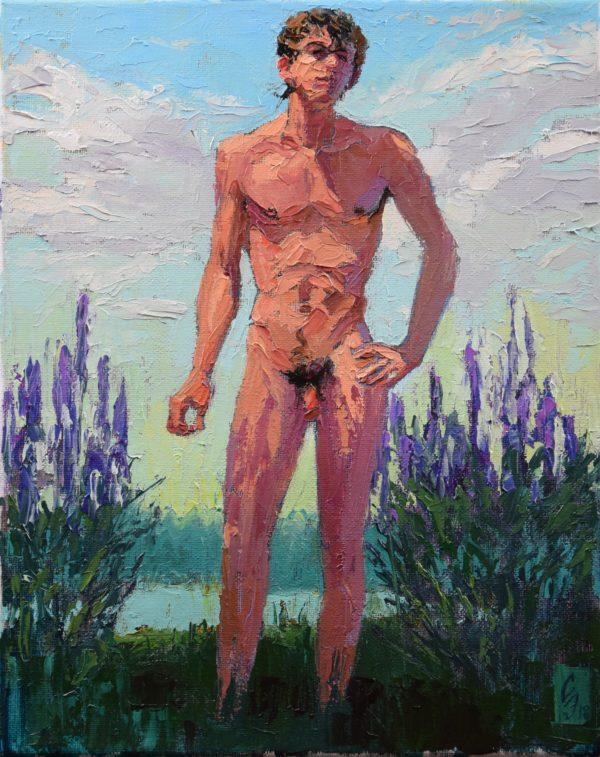 Salvia Gay Art Painting Sergey Sovkov