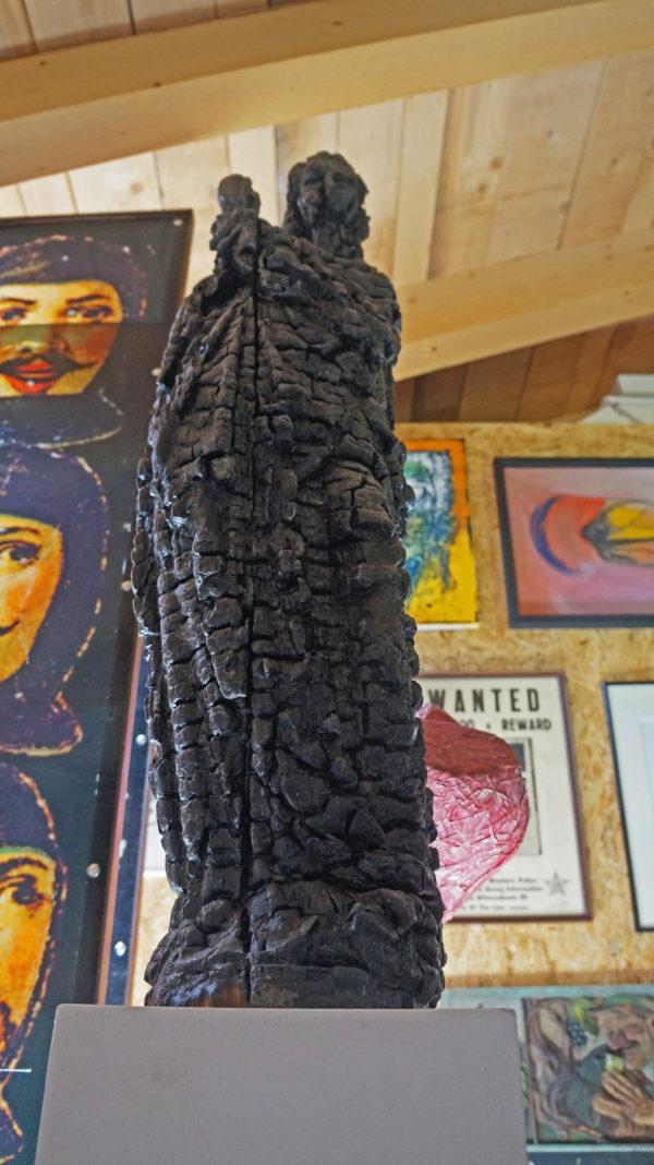 Schwarze madonna hannes neuhold skulptur